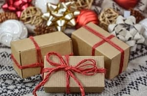 packed gifts